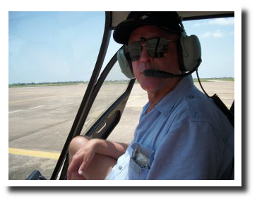 The Pilot of Greater Houston Helicopter Flights - Ted Miller